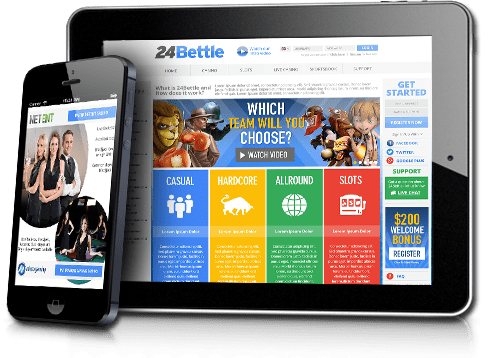 24Bettle Casino online and mobile