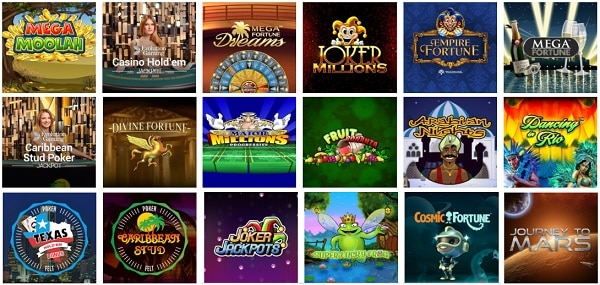 iGame Casino online and mobile games