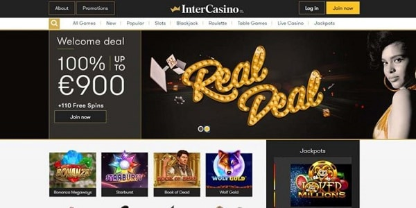 Ger €1500 free and 110 bonus spins in welcome offer!