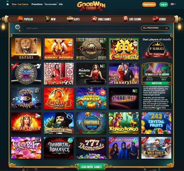 Goodwin Casino Review