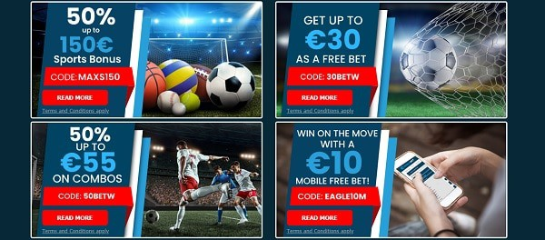 Exclusive sportsbook promotions