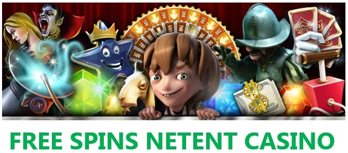 Netent casinos free spins