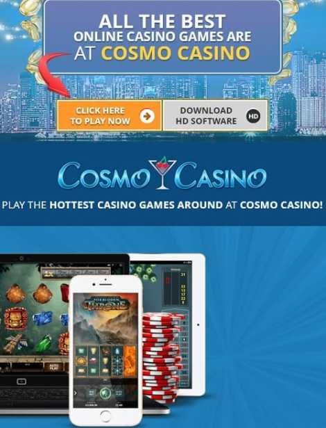 Cosmo Casino Review: 150 free spins and €500 bonus on jackpots
