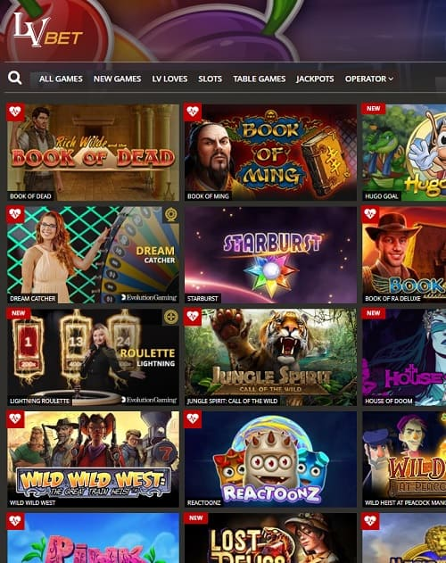 LVbet Casino Review €5 no deposit free bet + 1000 free spins + €1000 bonus