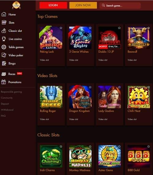 Thebes Casino Free Spins Bonus