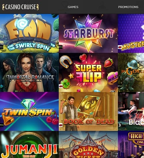 Casino Cruise Review | 200 free spins and €1,000 free welcome bonus