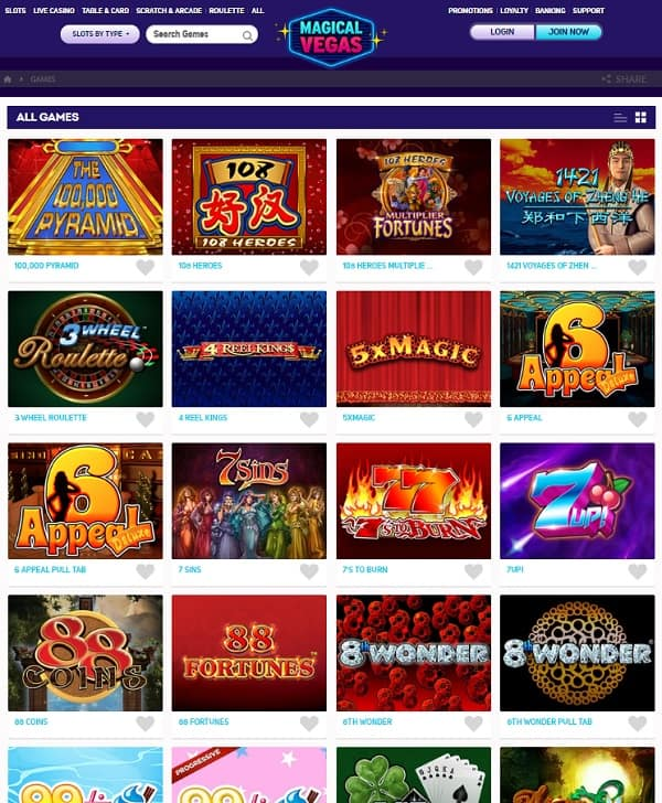 Magical Vegas Casino Review: £1,000 bonus and extra free spins