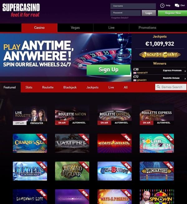 Super Casino UK