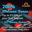 Casimba Casino 150 free spins and $6500 welcome bonus