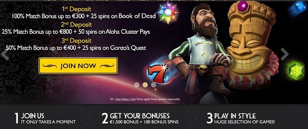 Grand Ivy Casino Welcome Bonus