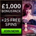 Royal House Casino | 25 free spins and £1000 bonus | review
