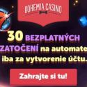 Bohemia Casino | 30 free spins & 100% free bonus | review