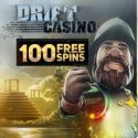 Drift Casino | 100 free spins and $500 welcome bonus | review