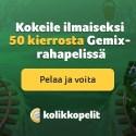 Kolikkopelit Casino | 50 free spins on Gemix & 100% bonus | review