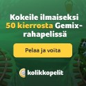 Kolikkopelit Casino | 50 free spins on Gemix & 100% bonus | review