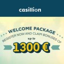 Casillion Casino | 220% bonus up to €1300 and free spins | review