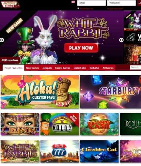 JackpotStrike Casino Review