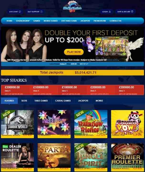 Mako Casino Review