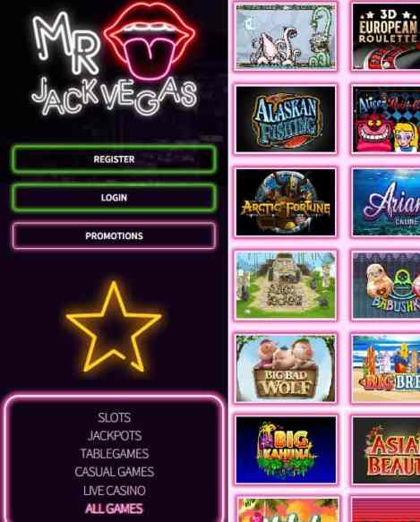Mr Jack Vegas Casino Review