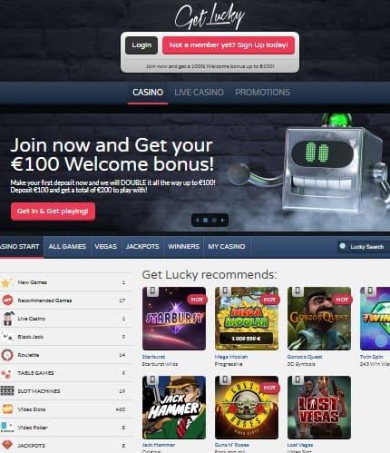 GetLucky.com free casino