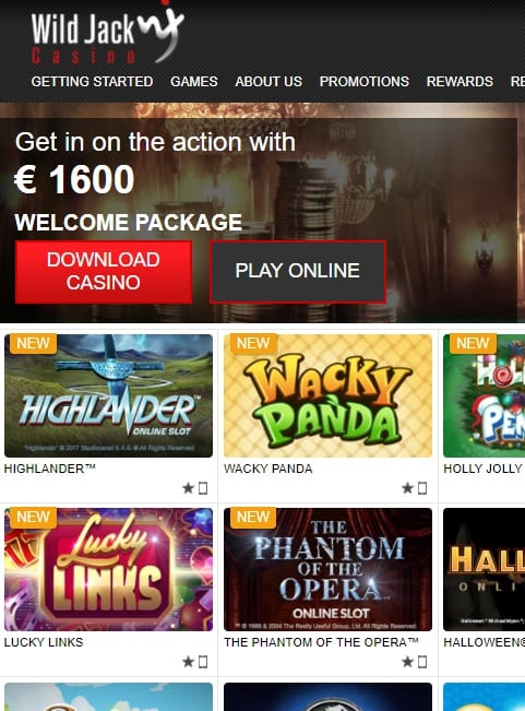 Wild Jack Online Casino Review