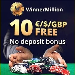 WinnerMillion Casino banner 250x250