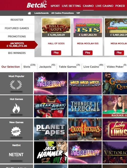 BetClic Casino Review