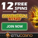 Emu Casino 11 free spins and $300 welcome bonus