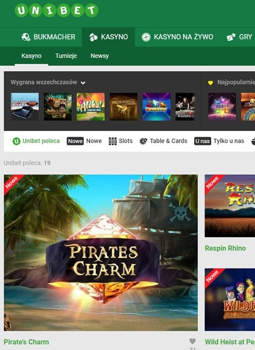 Unibet Casino | 750 free spins and 200% sign-up bonus | Online & Mobile
