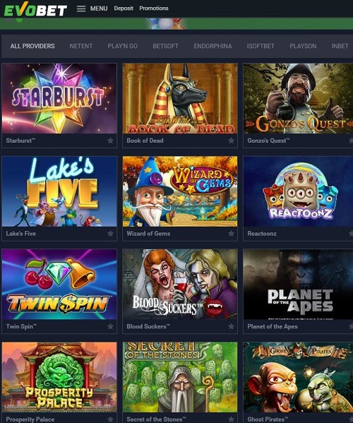 EVO Bet Casino Review