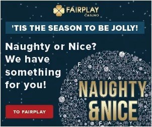 Fairplay Casino Christmas Bonus Calendar - been nice or naughty?