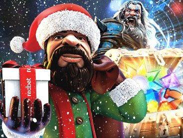 Redbet Christmas Bonus Calendar with free spins & cash bonuses