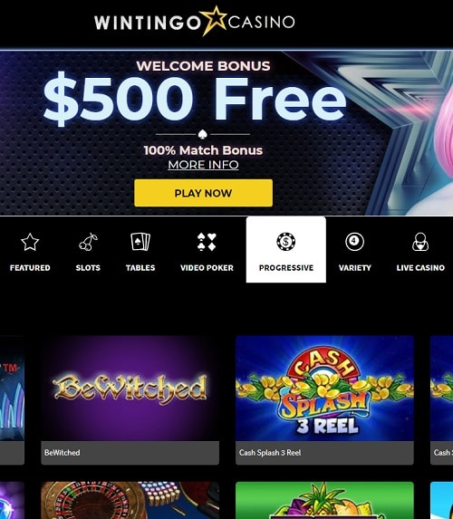 Wintingo Casino Review