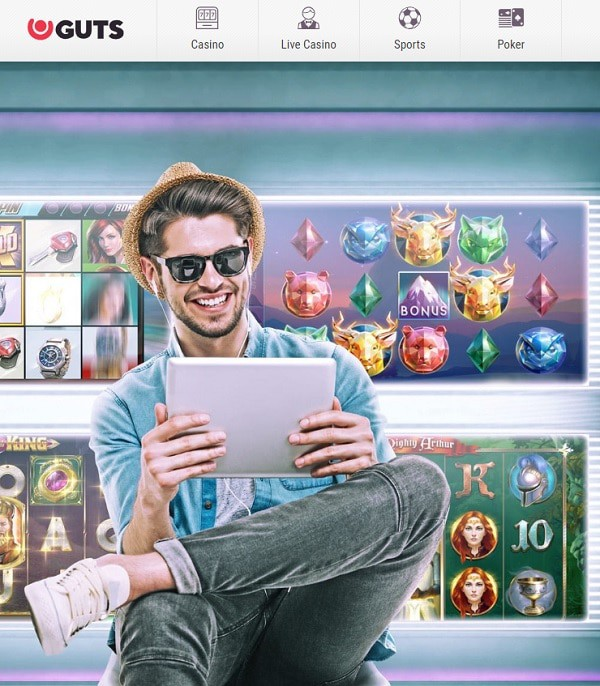 Guts Casino Welcome Bonus