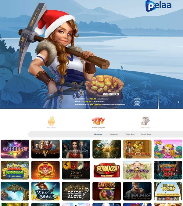 Pelaa Casino online and mobile - Finland, Sweden, Germany