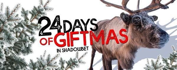 ShadowBet Casino Advent Bonus Calendar - Merry Giftmas!