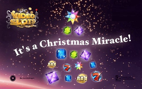 Videoslots Christmas Calendar - daily free bonuses and promotions