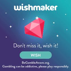 Wishmaker Casino - 50 free spins & €200 bonus on registration