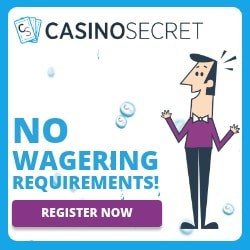 Casino Secret - free cashback bonuses & no wagering requirements