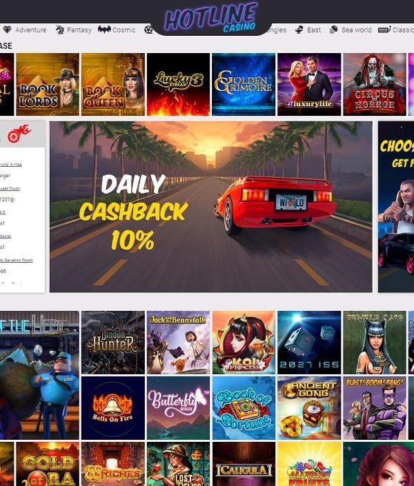 Hotline Casino Review