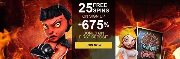Rich Casino welcome bonus