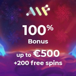 Alf Casino 500 EUR welcome bonus and 200 free spins