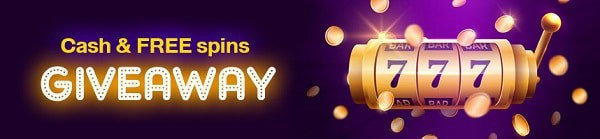 cash and free spins giveaway
