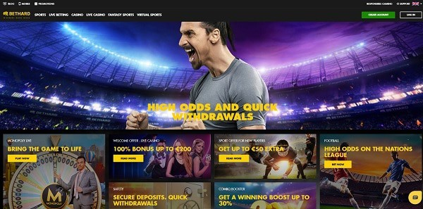 Bethard.com Casino and Sportsbook Review