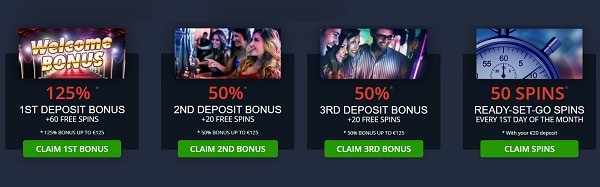 Fruits4Real Casino welcome bonus and promotions