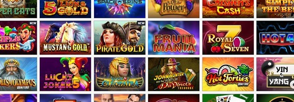 Fruits4Real Casino games and providers