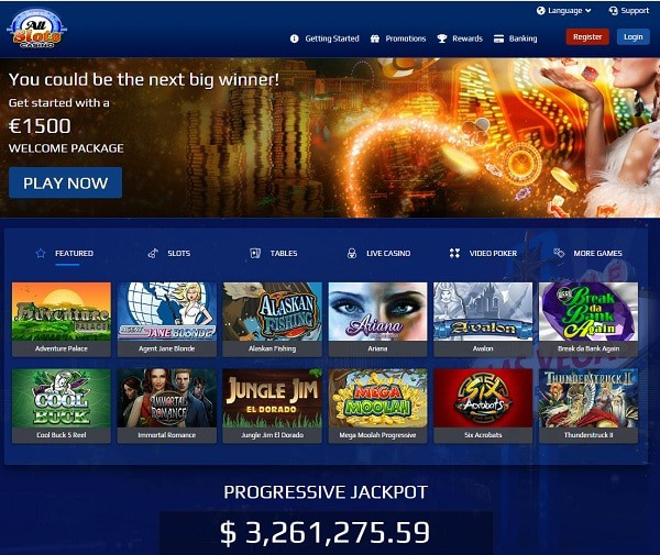 AllSlots.com Review