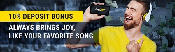 BettiltCasino 10% bonus