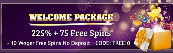 Double Up Casino welcome bonus