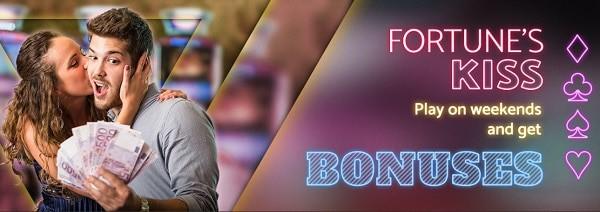 Fortune's Kisses Bonuses